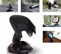 Wholesale Mouse Note Holder - 2016 New Mouse Car Phone Holder Universal 360 Windshield Mount Bracket for iphone 7 6 plus samsung note 7 huawei mobile