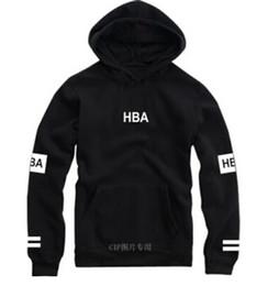 Wholesale Tracksuit Men Plus Size - Wholesale-Fashion brand hip hop hoodie hba classic circle printing fleece thick polerones hombre plus size tracksuit autumn winter