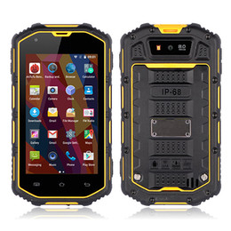 Wholesale Dual Core Ip67 - New Rugged Smartphone ALPS S930D MTK6580 Quad Core 4.0 Inch IPS Screen IP67 Dustproof Waterproof Shockproof Android 5.1 3G Cell phone