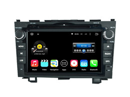 Wholesale Dvd Player For Honda - Quad Core Android 5.1 6.0 Car DVD Radio For CRV 2006 2007 2008 2009 2010 2011 For Honda With Stereo GPS
