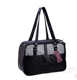 Wholesale Cage Crate - New Fashin Dog Carriers Pet Product Dog Carrier Bag Crate Cages Free Shipping