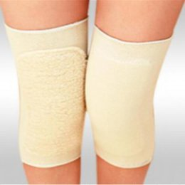 Wholesale Far Infrared Knee - Elastic Warm Knee Support Knee Brace Health Care Far Infrared Magnetic Therapy Joint Massage Kneepads Knees Braces
