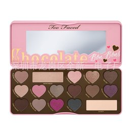 Wholesale Sizing Guide - Makeup BON BONS Chocolate Bar Eyeshadow Palette 16 Colors plate Love Heart how to clamour guide