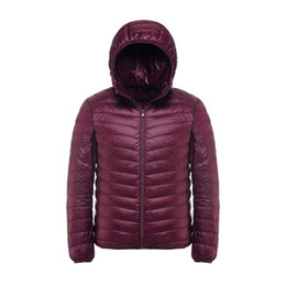 Wholesale Down Coat Xl - 2017 New Casual Brand White Duck Down Jacket Men Autumn Winter Warm Coat Men's Ultralight Duck Down Jacket Male Windproof Parka