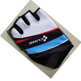 Wholesale Racing Bike Cube - 2017New Half Finger Cube Cycling Gloves Mtb Road Mountain Bike Bicycle Gloves Sport Gloves