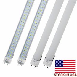 2019 iluminação de energia Tubos Lâmpadas LED 4 Pés FT 4ft Tubo LED 18 W 25 W T8 Luz Fluorescente 6500 K Branco Frio Atacado Fábrica de alto brilho, economia de energia desconto iluminação de energia