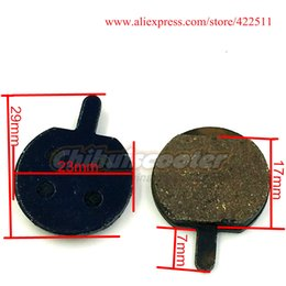 Wholesale Bicycle Brake Shoes - Wholesale-Electric Scooter Bicycle Disc Brake Pads (Dia.=23mm) Brake Shoes Brake Block ( Scooter Spare Parts)