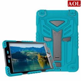 """Wholesale Screen Protector Ipad Mini Back - For iPad mini mini4 7.9"""" Cool Autobots Silicon + PC Defender case 3 in 1 with stand Screen Protector back case cover"""