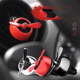 Wholesale Perfume Bear - Creative personality Car air outlet Car Air Freshener Diffuser Elliptical shape With bearing Car Vent Perfume fragrance smell