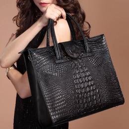 Настоящие кости онлайн-Женская сумка из натуральной кожи Сумка хорошего качества Большая сумка Роскошный крокодиловый костный мозг Сумка-кошелек для женщин