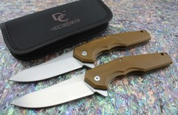Cuchillo elfo online-DC versión DC-A5 CKF ELF ANTON MALYSHEV DESIGN gran cuchillo plegable 8cr13mov blade CNC AIO G10 mango Exterior Tactical Camping EDC