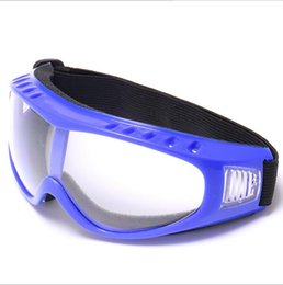 Wholesale Blue Lens Safety Glasses - Fashion Snowboard Dustproof Sunglasses cycling Ski Goggles Lens Frame Glasses Tactical protective glasses Sports Protective Safety Glasses