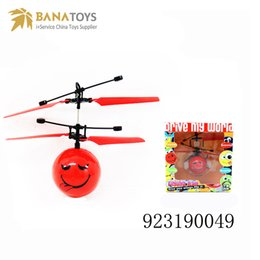 c8059cafd3 Flying Helicopter Flying Ball Fun toy with USB motion sensor Flying ball  Helicopter toy bauble Infrared control Free Shipping