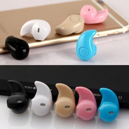 Wholesale Stealth Phone - 2018 New S530 Mini Wireless Bluetooth 4.1 Earphone Stereo Light Stealth Headphones Headset Earbud With Micro phone Universal with retail box