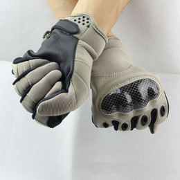 Wholesale Mitten Wear - Brand-New OKOK Brand Wear Military Army Tactical Airsoft Gloves Outdoor Full Finger Motocycel Bicycle Gloves Mittens Free Shipping Airsoft