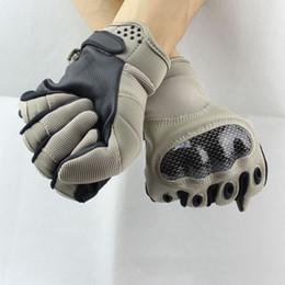 армейские военные перчатки Скидка Новый OKOK бренд носить военная армия тактические страйкбол перчатки открытый полный палец Motocycel велосипед Перчатки Рукавицы Бесплатная доставка страйкбол