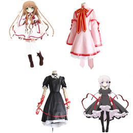 Wholesale Kotori Anime - Rewrite Harvest Festa Cosplay Kotori Kanbe Shizuru Nakatsu Lucia Konohana Kagari Costumes School Uniform Halloween Party Dress