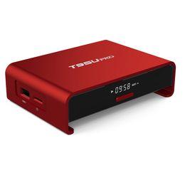 Wholesale Red 2g - Amlogic S912 Android 6.0 tv box T95U pro 2G 16G Octa Core Cortex-A53 2.4G 5G Bluetooth 4K H.265 Better M8S MXQ PRO T95M