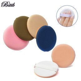 Wholesale Air Cosmetics - Bittb Soft Air Cushion BB Cream Cosmetic Puff Face Makeup Foundation Sponge Facial Flawless Smooth Beauty Powder Puff Tools