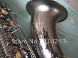 Wholesale Selmer Reference - Henri Selmer Tenor Saxophone Drop B Adjustment Saxophone Musical Instruments Reference 54 Surface Nickel Plated Sax With Case