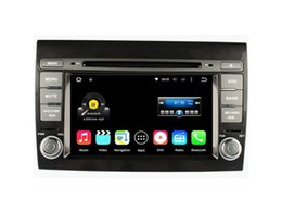 Wholesale Car Dvd Player Fiat - 7'' Quad Core Android 5.1.1 Car DVD Player For Fiat Bravo 2007 2008 2009 2010 2011 2012 With Stereo GPS Radio