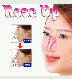 Wholesale Nose Up Lifting - Women Lady Favor Shaper Bridge Straightening Clipper Beauty Nose Up Clip Lifting Shaping Facial Massage Tool
