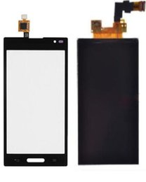 Wholesale Lg P769 - Touch Screen Digitizer LCD Display Replacement Part Hot For LG Optimus P769