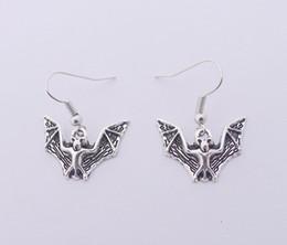 Wholesale Cat Bats - FREE SHIPPING Hot Sale Alloy Bat Bear Cat Earrings,E3408