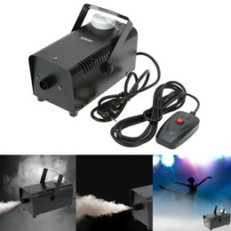 LIXADA 220V 400W Wired Stade Smoke Fogger Making Machine avec Line Controller Bar Wedding Party Décoration nouveau à partir de fabricateur