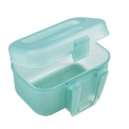 Wholesale Outdoor Fishing Transparent Plastic Fishing Lure Bait Box Storage Organizer Container Case W21