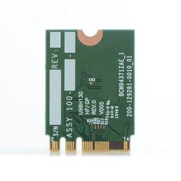 Wholesale Pci Card Size - Wholesale- For BCM94371ZAE 802.11AC 867Mbps NGFF M2 Half Size Mini PCi-E WiFi Card Wireless WiFi Adapter+ Bluetooth v4.1 T20