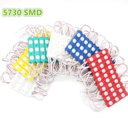 Wholesale Super Bright SMD Cool White M tape LED Module LEDS lens Light Waterproof DC12V Injection Molding Colorful Cover