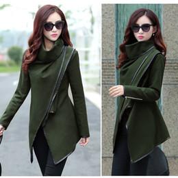 Canada Womens Ruffle Wool Coat Supply, Womens Ruffle Wool Coat ...