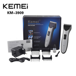Wholesale KEMEI KM Rechargeable Electric Hair Clipper Trimmer Cordless Hair Clipper Trimmer Hair Removal Shaver EU Plug news