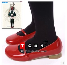 Wholesale Dangan Ronpa Cosplay - Wholesale-Danganronpa 2 Super Dangan-Ronpa 2 Sonia Nevermind Cosplay Shoes Cosplay Boots Professional Handmade! Free shipping!
