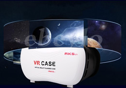 "Wholesale Newest 3d Movies - The Newest 5th G VR BOX Version VR Virtual Reality Glasses Rift Google Cardboard 3D Movie for 3.5"" - 6.0"" Smart Phone"