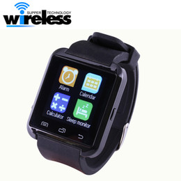 Wholesale Hands Free Camera - Bluetooth Smartwatch U8 Smart Watch Wrist Watches hands-free calls for iPhone Samsung HTC Android Phone Smartphones
