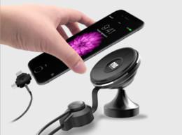 2019 support de chargeur de voiture iphone 5s New Universal Nano Multi Purpose Support Chargeur Voiture Support de téléphone 360degree Tableau de bord rotatif / Air Vent support Cable pour iphone Samsung plus