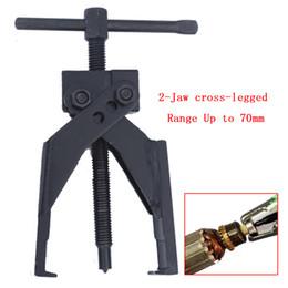 Querlager online-2 Kiefer mit gekreuzten Beinen Chromstahl Getriebe Lagerabzieher Werkzeug bis zu 70mm