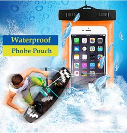 Wholesale Galaxy Note2 Phone Cases - PVC Waterproof Diving Bag For Mobile Phones Underwater Pouch Case For iphone 4s 5s 6 6plus For samsung galaxy s3 s4 s5 Note2 3 4