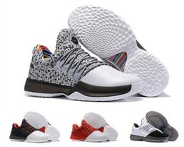 Wholesale High James - 2017 New Harden Vol. 1 Basketball Shoes Men High Quality James Harden Shoes Sneakers Athletic Shoes Size 7-12 Free Shipping