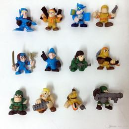Wholesale Children Cute Boys - The soldier boy Mini Action Figures Gashapon Gachapon Capsule Toys Mini Figuress Cute for children Christmas Gifts