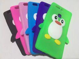Wholesale 3d Penguin - 3D Penguin Soft Silicone Case For Iphone 6 6S 7 Plus Samsung Galaxy 2017 A3 A5 S7 EDGE Huawei Ascend P9 Lite NOVA Cartoon Rubber Skin Cover