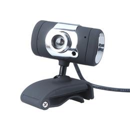 Wholesale pc mega - Black USB 2.0 50.0M HD Webcam Camera Web Cam Digital Video Webcamera with Microphone MIC for Computer PC Laptop