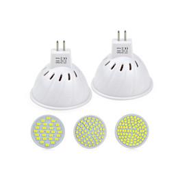 Wholesale Spot 12v Led 6w Mr16 - 6W 7W MR16 GU5.3 LED lamp AC 220V 240V 60LEDs 27LEDs 80LEDs LED Spot light Bulb For Kitchen living Room light   lighting