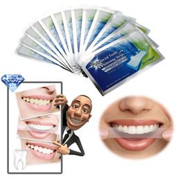 Wholesale Bleaching Strips - 14Pairs New Teeth Whitening Strips Gel Care Oral Hygiene Clareador Dental Bleaching Tooth Whitening Bleach Teeth Whiten Tools