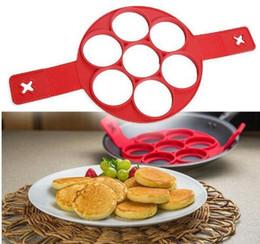 schokoladentiere formen Rabatt 2017 neue Flippin Fantastische Schnelle Einfache Möglichkeit, Perfekte Pfannkuchen Zu Machen Nonstick Pancake Maker Ei Ring Maker Küche Backformen