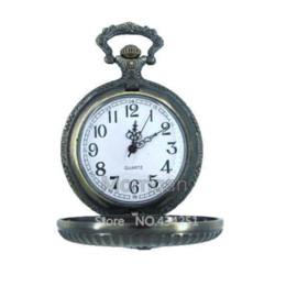 Wholesale Masonic Pocket Watches - Free Shipping! Freemasonry most popular antique quartz classical masonic pocket watch MWA0001 quartz pocket watch