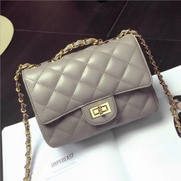 Wholesale Tweed Fabric Cheap - cheap Price bags for women 2018 lattice luxury women bags designer brand design fashion lattice Chain female crossbody shoulder bags