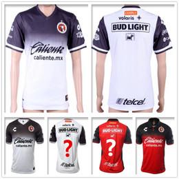 Wholesale Quality Custom Homes - Thai Quality Mexico Club Tijuana Football Jersey G.BOU CORONA LUCERO MALCORRA KALINSKI L.CHAVEZ Home Away Custom Red White Soccer Shirt